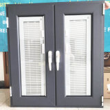 Building Material House Used Price Hurricane Impact Aluminium Double Glazed Tempered Glass Casement Doors Windows Guangzhou Aluminum Alloy Tilt and Turn Window
