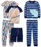 Fashion Print 100% Cotton Pajama Long Sleeve Cute Sleepwear Baby Clothes