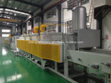 Continuous Mesh Belt Carburizing and Hardening Furnace