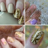 Manufactory for Nail Art Embossed 3D Nail Stickers Art Stickers Decals