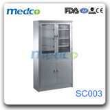 Good Price! ! Hospital Stainless Steel Storage, Knock Down Equipment Furniture Cupboard