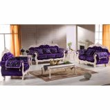 Living Room Furniture with Wooden Sofa Set (929T)