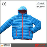 Winter Nylon Quilted Padded Mens Insulated Bomber Jacket