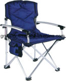 Folding Chair for Camping, Fishing with Aluminium Slat Armrest
