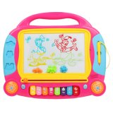 Kids Writing Board Colored Magnetic Drawing Board Toy with Music
