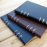 Custom-Made Stationery PU Leather Memo Pad Notebook Printing