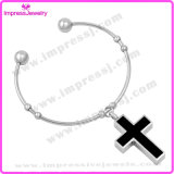 Cross Bracelet Bangles Cremation Urn Jewelry Stainless Steel
