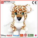En71 Stuffed Animal Plush Toys Soft Leopard for Kids