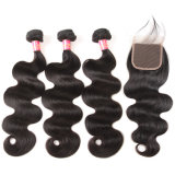10A 1PC 100% Peruvian Virgin Human Hair Weaves Body Wave
