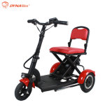 CE FDA EEC COC Approved 36V 300W Electric Tricycle Moped Three Wheel Mobility Scooter Foldable Electric Mobility Scooter with 10ah Lithium Battery