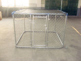 Hot Galvanized Chain Link Outdoor Dog Kennel