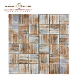 New Collection High Quality Glass Mosaic Tiles Patterns Pool Tile Prices Tiles Luxury for Wall