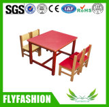 Wooden Daycare Children Furniture Kid's Table for Kindergarten Used (SF-43C)