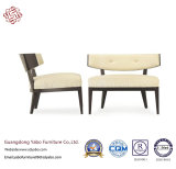 Hotel Furniture with Leisure Chair with White Leather (YB-0685B)