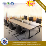 Black Steel Leg Conference Table Desk Wooden Office Furniture (UL-MFC252)