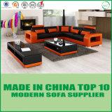 Italian Modern Living Room Leisure Italy Leather Sofa Furniture