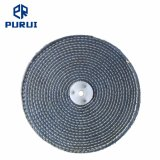 """10"""" Colour Stitch Cotton Buffing Polishing Wheel with Plastic Washer for Metal"""
