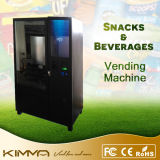 Bank Note Operated Cool Drinks Vending Machine with Touch Screen