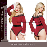 Sexy Lingerie Adult Santa Christmas Cosplay Holiday Costume for Ladies