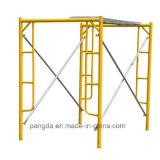 Powder-Coated Long Service Life Steel Mason Ladder Frame Scaffold