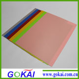 0.8mm High Glossy Colored PVC Rigid Sheets (1220*2440mm)