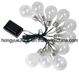 Solar Bulb Chain LED Light for Decoration Holiday, Garden, Party