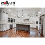 New Design Modern White Solid Wood Kitchen Cabinet