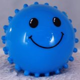 Smile Face Toy Ball, Half Massage Ball, Hand Ball