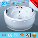 1.6m Round Free Standing Massage Jaccuzi with 2 Piallow (BT-373)