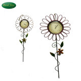 Plant Modeling Thermometer Crafts Iron Sunflower Thermometer