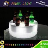 Bar Furniture Flashing Multicolor Changing LED Wine Tray