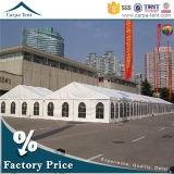 White Fabric Structures Flame Retardant 12m*36m Trade Show Canopy