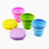 FDA Silicone Drink Mug Travel Collapsible Cup