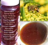 Top Queen of Honey, Pure Fennel Honey Most Fragrance, Rare Precious No Antibiotics, No Pesticides, No Pathogenic Bacteria, Nourish Internal Organs, Prolong Life