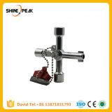 Multi-Model 10 in 1 Universal Cross Key Plumber Keys Triangle for Gas Electric Meter Cabinets Bleed Radiators