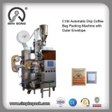 Wholesale Ultrasonic Sealing Kenya Drip Coffee Packing Machine with Outer Envelope