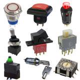 Waterproof Electronic Power Slide Key Switch Rocker Automotive Metal Push Button Micro Switch with LED Light