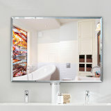 1.8mm 2mm 3mm 4mm Aluminium Mirror with Polish Edge in 600mm*900mm