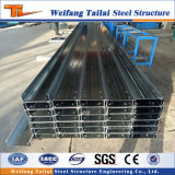 Galvanized Cold Rolled Steel C/Z Steel Purlins for Steel Structure Building