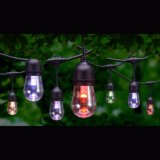 Outdoor Commercial Festival LED RGBW Festoon Belt String Light