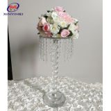 Event Party Supplier Cheap Base Crystal Flower Stand Wedding Decoration