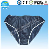 Blue Disposable Nonwoven Man Underwear