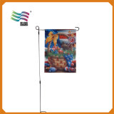 Cheap Wholesale Outdoor Garden Flag with Customized Logo Printed (HY09124)