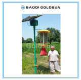 Solar Pest Trapping Light Insect Killer Used for Pest Control