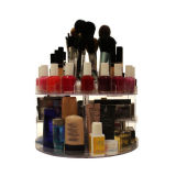 Glam Caddy Rotating Organizer Acrylic for Cosmetics Make up Box Display Storage