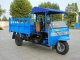 3 Wheel Motorcycle with Cabin and Garbage Bucket Diesel Engine Tricycle