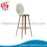 Modern Bar Furniture Stainless Steel Round Back High Bar Stool