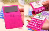 OEM Portable Mini Foldable Silicone Pocket Soft Solar Calculator
