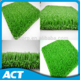 Non Infilled Outdoor Football Artificial Grass V Shape V30-R
