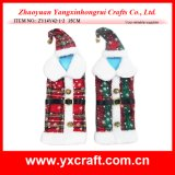 Christmas Decoration (ZY14Y42-1-2 35CM) Christmas Wine Clothes